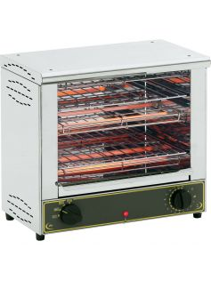 Toaster grill dvoupatrový 2 x 350x240 mm | ROLLER GRILL, 777102