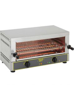 Toaster gril dvojposchodový (panini) 520x320 mm | ROLLER GRILL, 777107