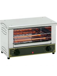 Toaster grill jednopatrový 350x240 mm | ROLLER GRILL, 777101